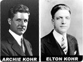 Archie Kohr & his brother Elton Kohr